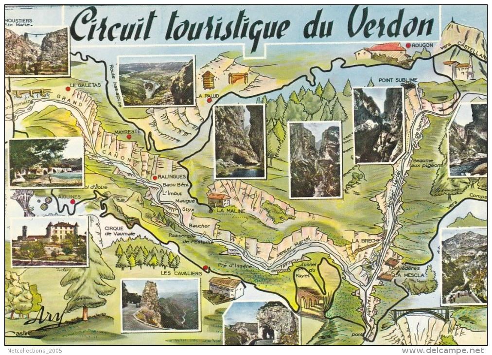 carte des gorges du verdon Gorge du Verdon – David Willett