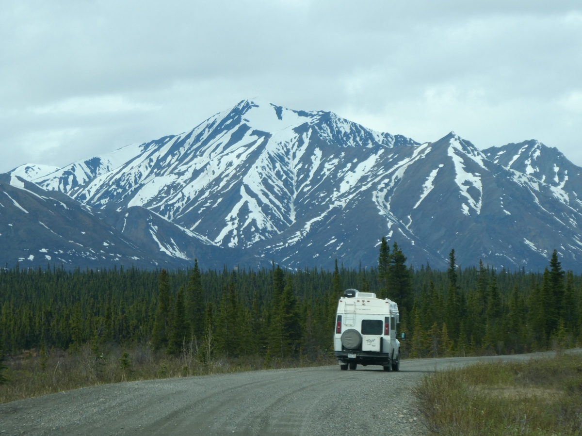The Denali Highway: 135 Miles of Unpaved Beautiful Wilderness