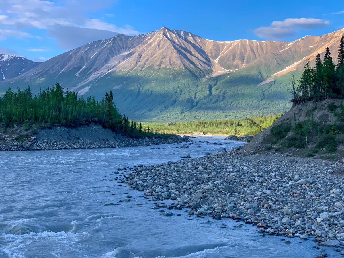 Wrangell-St Elias National Park and the town of McCarthy